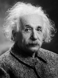 Albert Einstein - Change our thinking