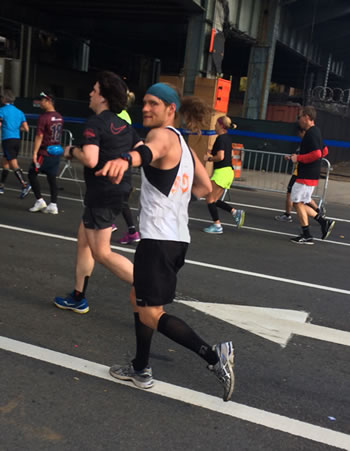 bryan NYC Marathon