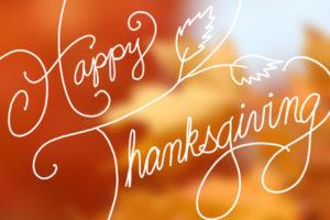 Intentional Gratitude Happy Thanksgiving
