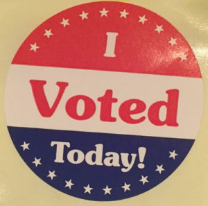 Did you go out and vote?