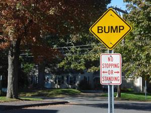 Speed bumps