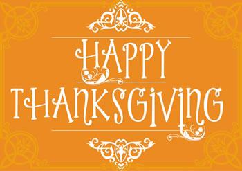 Happy Thanksgiving 2017 - Intentional Gratitude