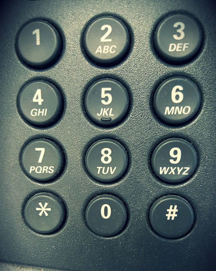 Digital Phone Dial - Push Button - Structure and Foundation