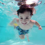 Kid Learning to Swim - Making a Mistake