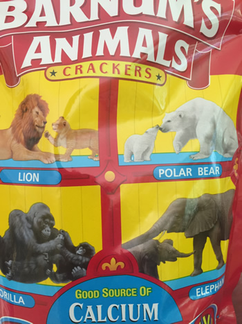 Are You in a Cage - Nabisco's Barnum Animals