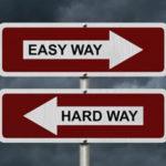 Do You Take It Easy Or Take It Hard?