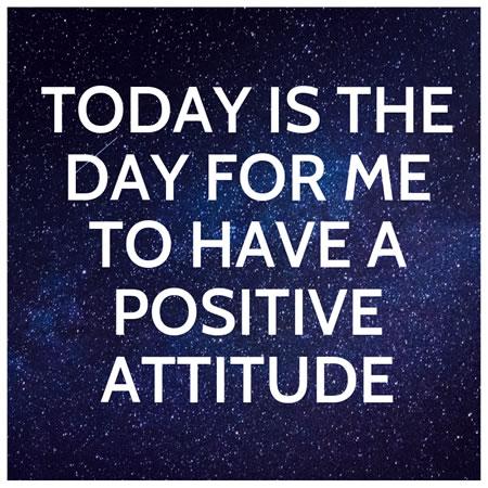 The Power Your Positive Attitude