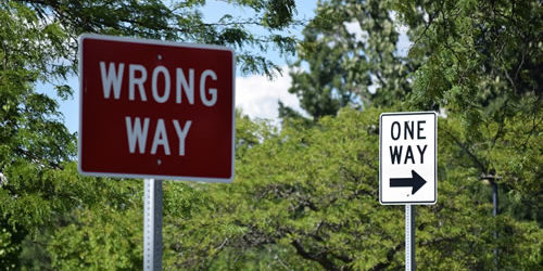 Have You Helped Others From Going The Wrong Way?