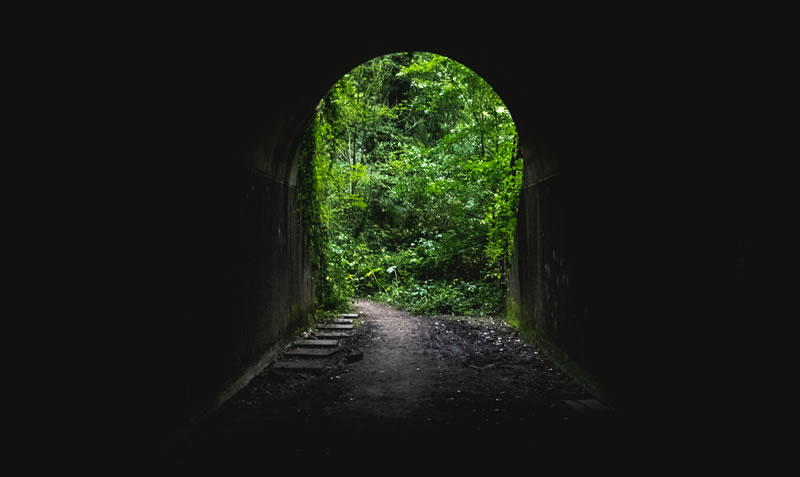 Where Is The Light At The End Of The Tunnel?